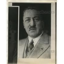 1928 Press Photo Harvey Yoder, Cleveland, O.