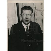 1925 Press Photo Harold Noice, who has the distinction of being the world's