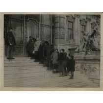 1922 Press Photo Castle Belvidere at Vienna Austria now a soup kitchen
