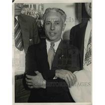 1932 Press Photo Joe Fargon, the husband