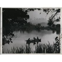 1938 Press Photo The breath taking view at Blue Ridge Mountains in Carolina