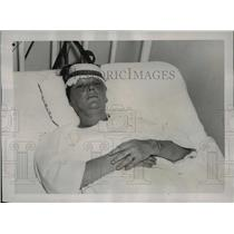 1937 Press Photo Mrs. Myrtle Arrington Gave Birth While Neck was Broken