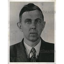 1940 Press Photo James Lorimer, Suspected Canadian Nazi Party Member