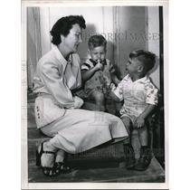 1950 Press Photo Family of POW William C Smith