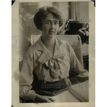 1916 Press Photo Lady Carson wife of Sir Edward Carson
