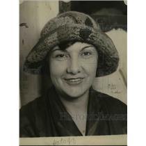 1924 Press Photo of Mrs. J.A. Wilson of Sydney, Australia.