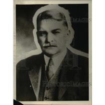 1922 Press Photo Dr. Samuel Wesley Stratton, Director of US Bureau of Standards