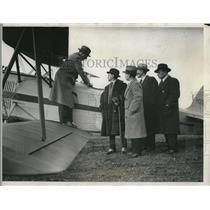 1932 Press Photo Edward Rembert,Tehyi Hsieh,Tom Chan amd Paul Lee
