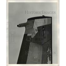 1959 Press Photo Boeing 707 jet propelled US Weather Lab,generated by storm