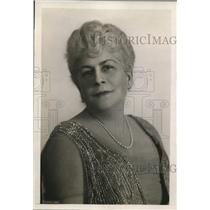 1921 Press Photo Mrs. Manuel R. Angula, Wife of Cuban Politician