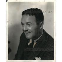 1938 Press Photo Harvey Parry, Hollywood Stuntman
