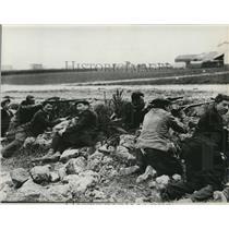 1935 Press Photo The Borrot Siege