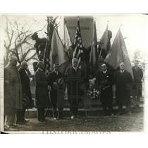 1927 Press Photo Wash DC Statue of Taseusz Kes chiusko, W Stilson Poland Min