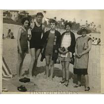 1927 Press Photo Sunny Sands at Palm Beach