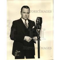 1934 Press Photo Donald McGibney in the Silken Strings