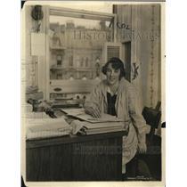 1918 Press Photo Mrs. Hugh Knight, Wife of Australian Military Officer