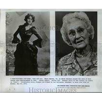 1973 Press Photo Edyth Harvey as Nell Gwynee in Undated and at 92 years old