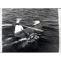 Press Photo Boeing HKP-4 Helicopter