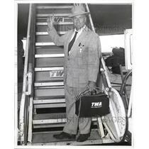 Press Photo Capt Joseph C. Ivanvich, American Suez Canal Pilot