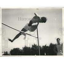 1932 Photo Kazuo Kimura best high jumper on Japanese Olympic team