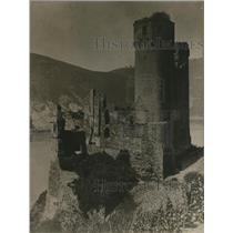 1918 Press Photo Rhine Germany, Ehrenfels