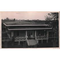1921 Press Photo Men's section cottage in Leper's Home in Baton Rouge, Louisiana