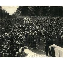 1923 Press Photo Knight Templars at Consecration of Rev Dr James Freeman in DC