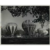 1977 Press Photo The Great Balloon Race of the Kentucky Derby Festival