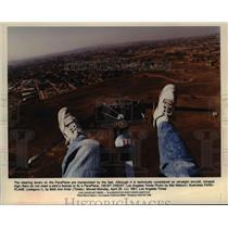 1991 Press Photo Paraplane