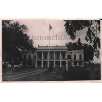 1921 Press Photo Administration building of Leper colony at Baton Rouge