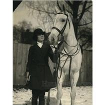 1922 Press Photo Miss Patricia Ainas one of the season's popular  debutant
