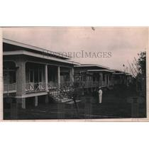 1921 Press Photo Row of cottages in the Leper colony near Baton Rouge, Louisiana