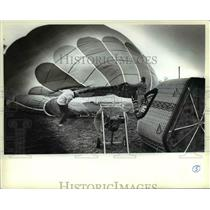 1984 Press Photo Balloonists & Balloonist