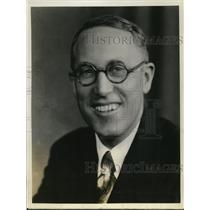 1928 Press Photo Jennings Pierce NBC announcer