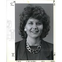 1990 Press Photo Amy Barr, Good Housekeeping Institute Director - ora02177