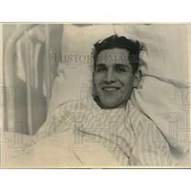 1924 Press Photo Rodolpho Cables is convalescing rapidly Los Angeles hospital