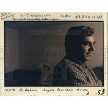 1996 Press Photo Bajro Boskovic - ora14898