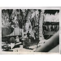 1936 Press Photo Swedish Hospital base at Dolo Ethiopia