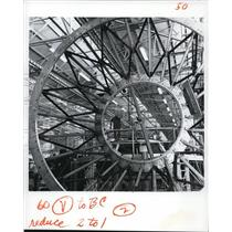 1955 Press Photo North American Aviation Co at Downey Calif