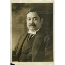1923 Press Photo Vicount Yasoya Ucshida Japanese Minister of Foreign Affairs