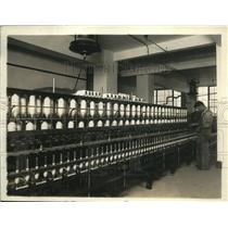 1920 Press Photo Cotton twisting machines atBureau of Standards testing