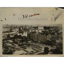 1918 Press Photo View of Prague, City of Bohemia capital of Czech-Slovaks