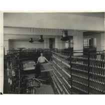 1920 Press Photo Cotton factory for tests at Bureau of Standards