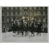 1928 Press Photo King of Sweden's Birthday