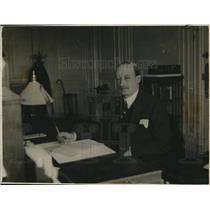 1920 Press Photo Lord Hardinge of Penshurst, British Ambassador in Paris