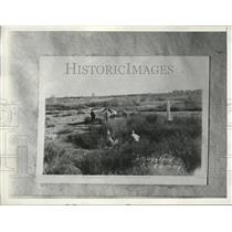 1934 Press Photo ElPaso Texas River Guards to catch smugglers