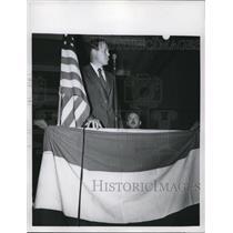 1957 Press Photo Col Charles Lindbergh in a 1940 photo