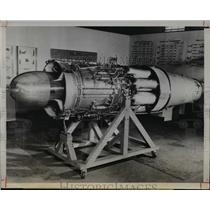 1945 Press Photo Axial flow G-E Jet developed by General Electric Company