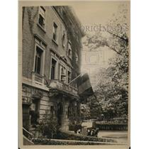 1935 Press Photo Belgian Embassy in DC mourns death of Queen Astrid