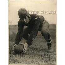 1924 Press Photo Adolph Eckstein, All-American, Brown University football team